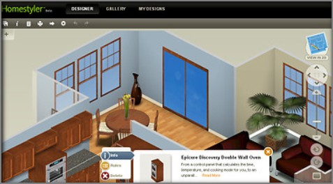 Návrhy interieru bytu v mobilu a Tabletu zdarma