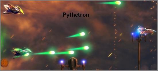 Vesmírná akční střílečka