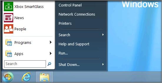 Classic Shell - Tlacitko Start pro Windows 8