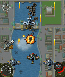 Aces of the Luftwaffe - java hra letadla zdarma na mobil