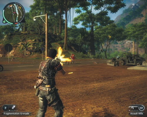 Just Cause 2 game foto info